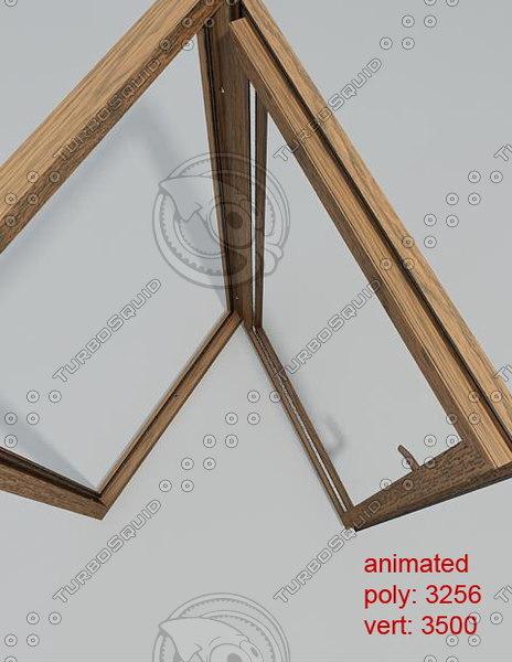 3d model window 05