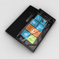 new nokia lumia 900 3d model