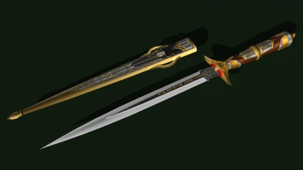 Spider king dagger