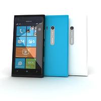 3d new nokia lumia 900 model