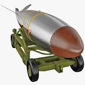3d model nuclear bomb mark 7