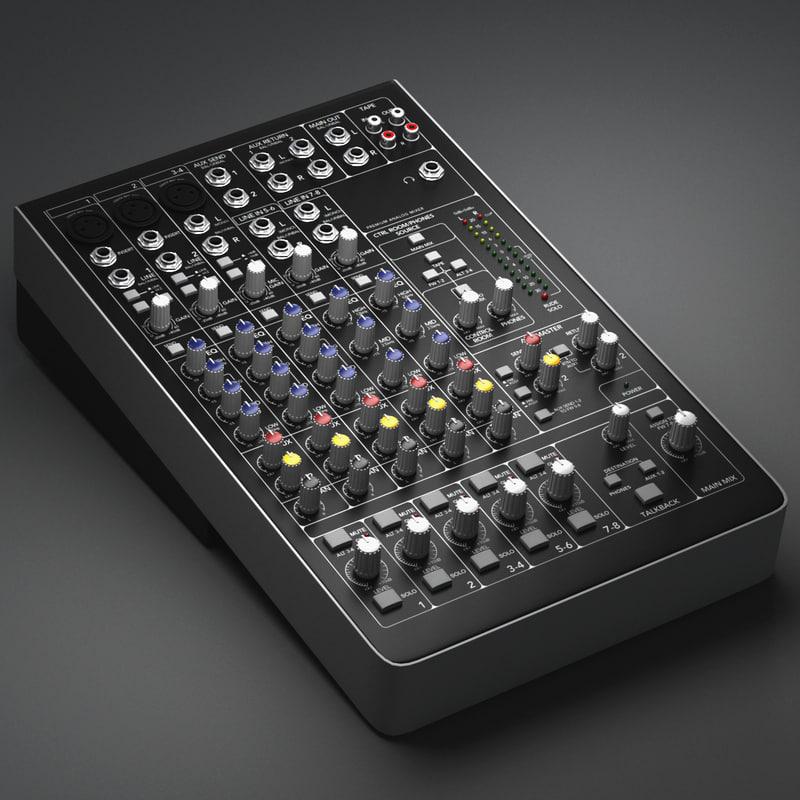 3d model mixer
