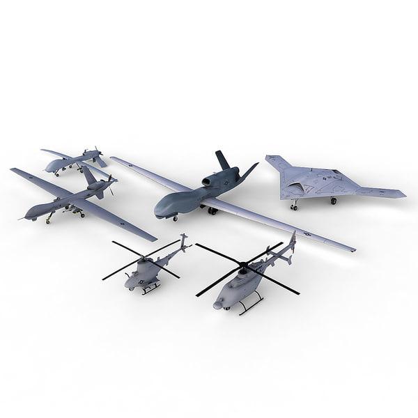 6 UAVs