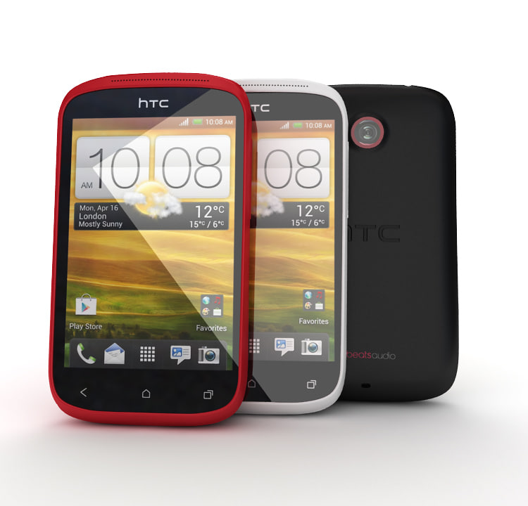 3d model of new htc desire c