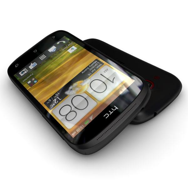 HTC Desire C smartphone Black