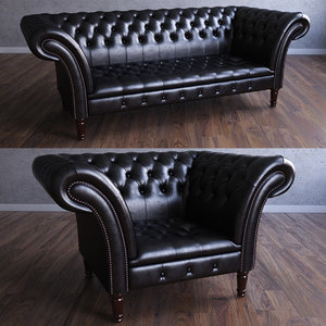 Chesterfield The Durham Armchair&Sofa
