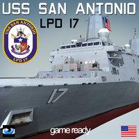 USS San Antonio LPD-17 (2)