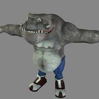 3d model monster