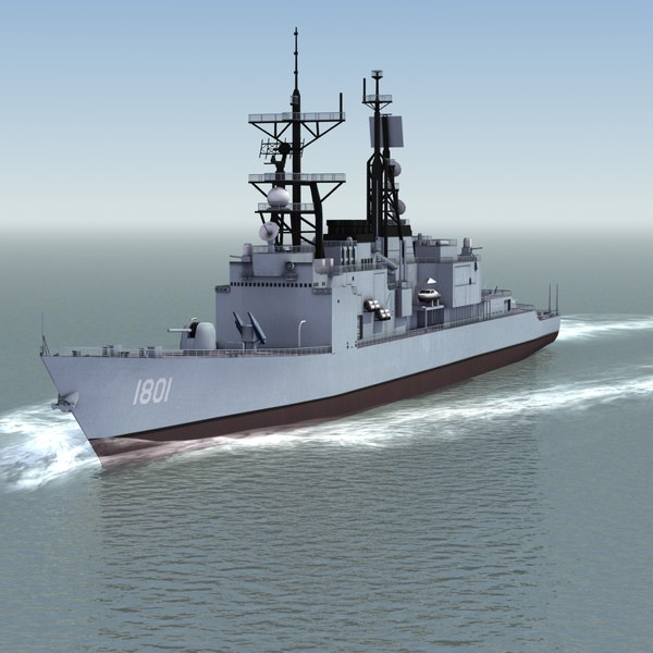 3ds max kee lung destroyer