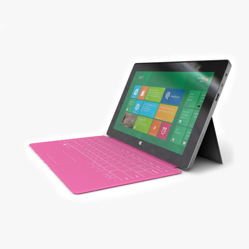3ds tablet microsoft surface