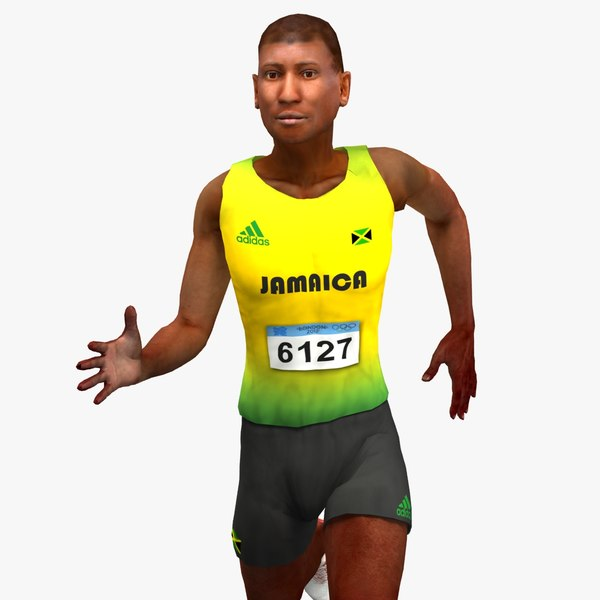 Olympic Athlete Jamaican