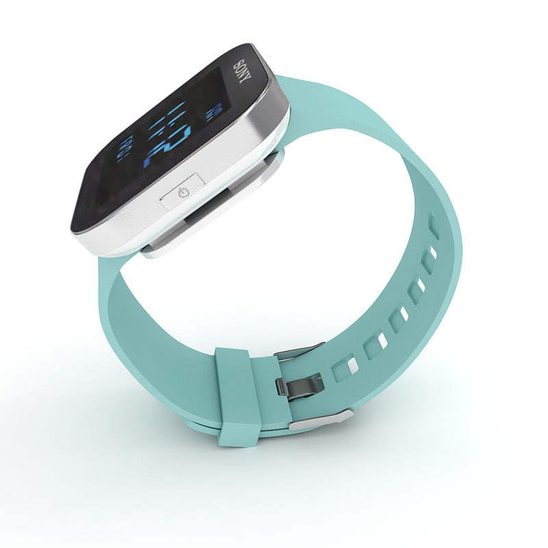 max sony smartwatch green