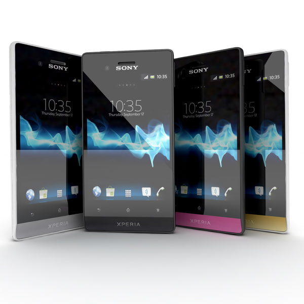 Sony Xperia Miro Smartphone Collection