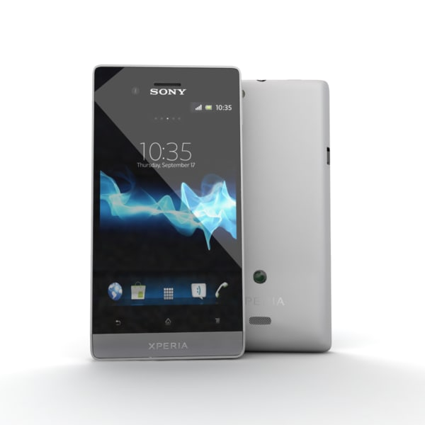 new sony xperia miro 3d model