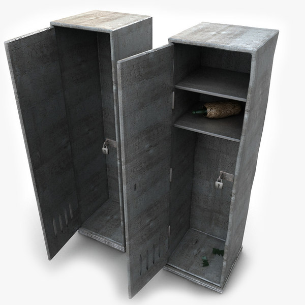 Metal Gym Locker Textured