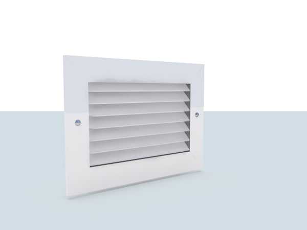 accurate vent 3d model