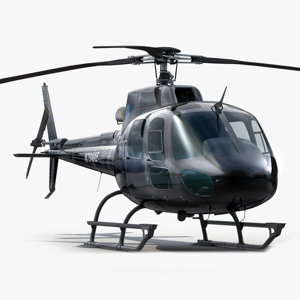 Eurocopter AS 350 Black