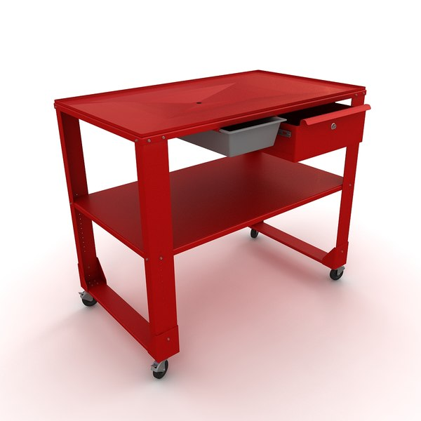 engine repair table 3d model