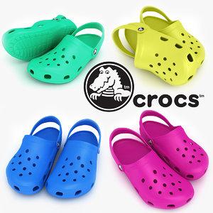 3d crocs shoes sandals clogs