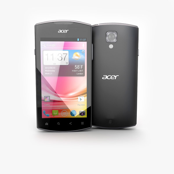 3ds acer liquid glow black