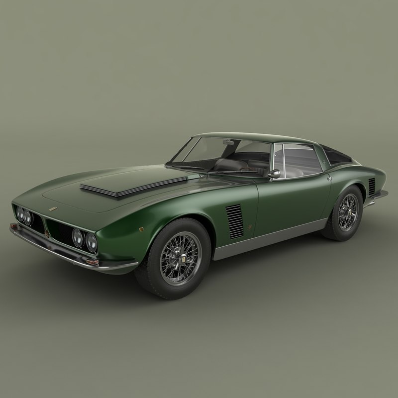 3ds max iso grifo 7 litri