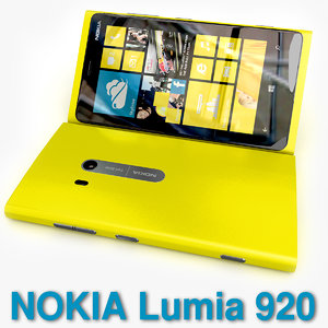 3d new flagship nokia lumia model