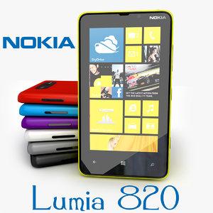 new nokia lumia 3d model