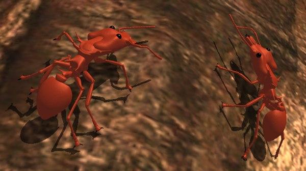 daceton ants 3d model