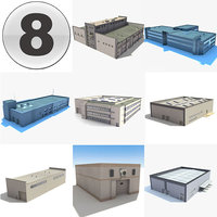 3d warehouses industrial collections