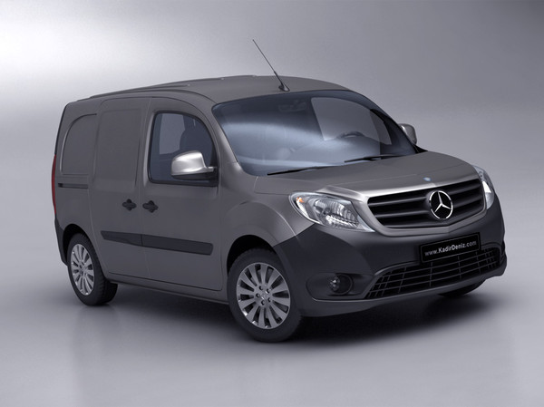 3d model mercedes citan van