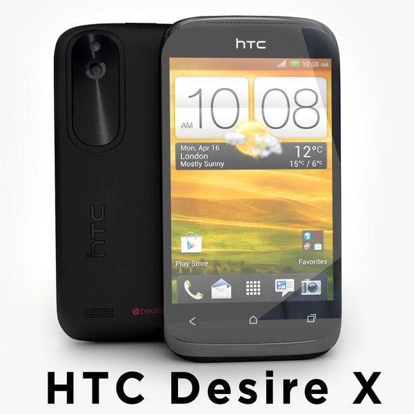 max htc desire x