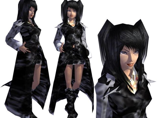 3d girl 2009 model