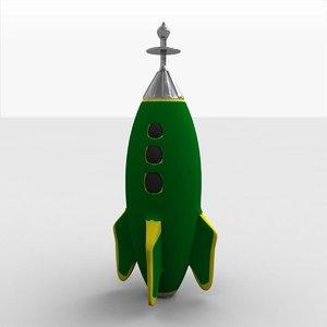 free 3ds mode spaceship rocketship