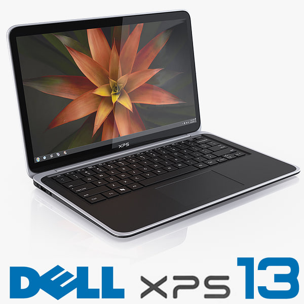 3d model dell xps 13 ultrabook