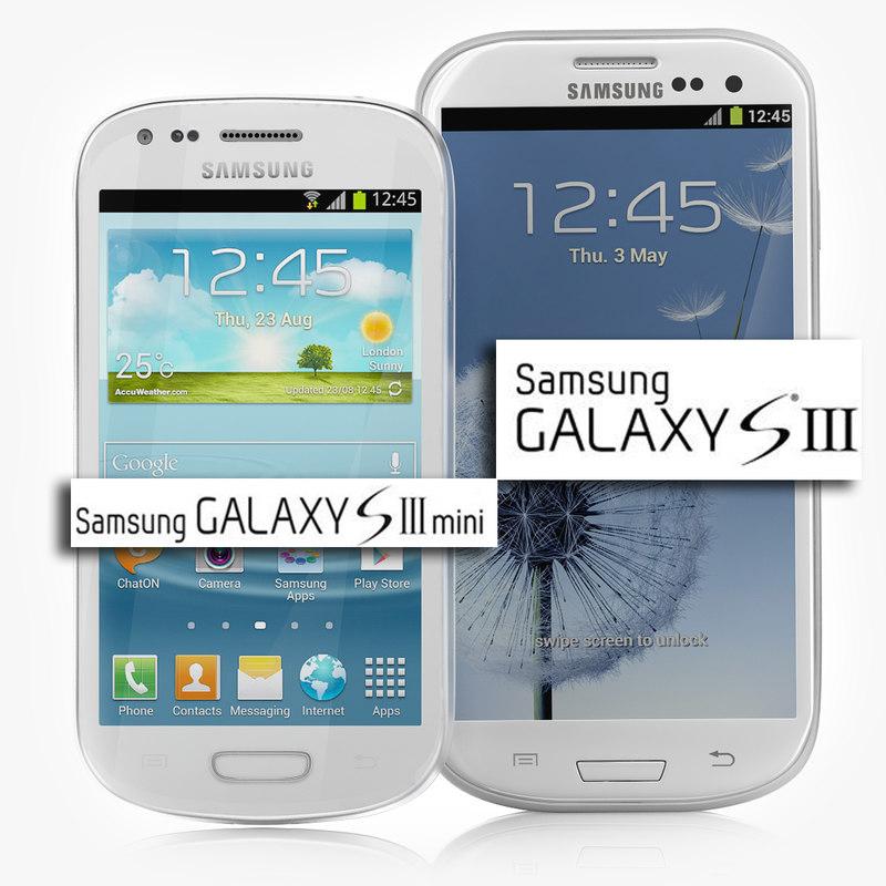samsung galaxy s3 white 3d max