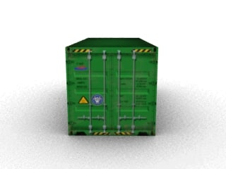 3d model 40p container 40