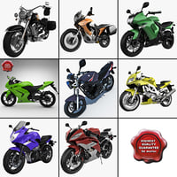 3d model motorcycles 13