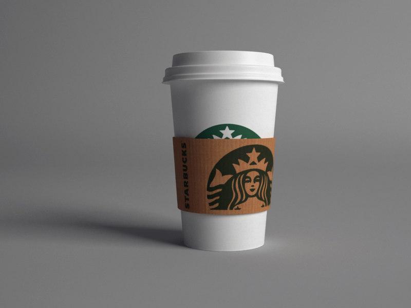 starbucks paper cup max