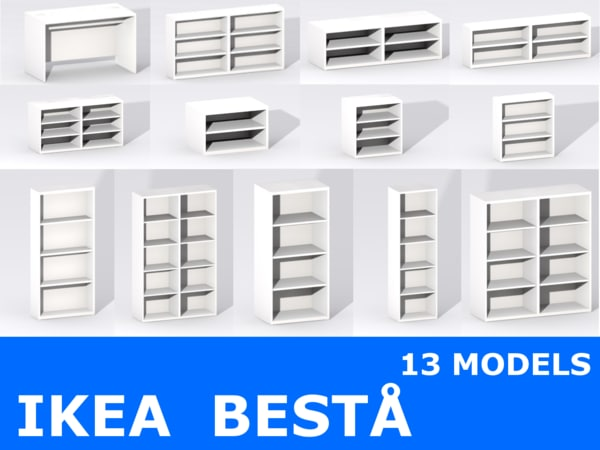 ikea furniture 3d max