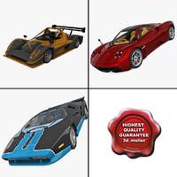 3d model supercars 2