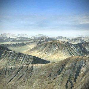 landscape hills terrain max