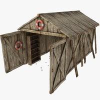 building barn max