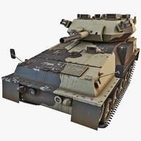 3d fv101 scorpion british tank model