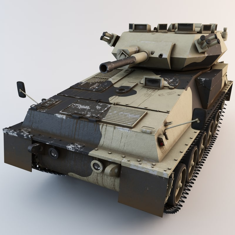 3d fv101 scorpion british tank model