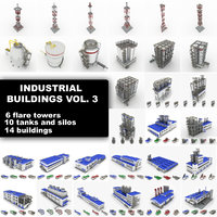 Industrial buildings Collection vol 3