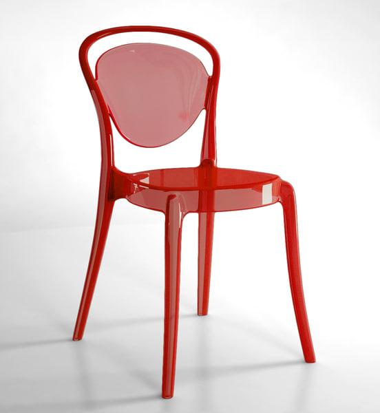 3d chair bistro