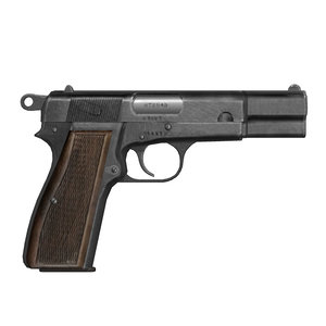 3d browning hi-power