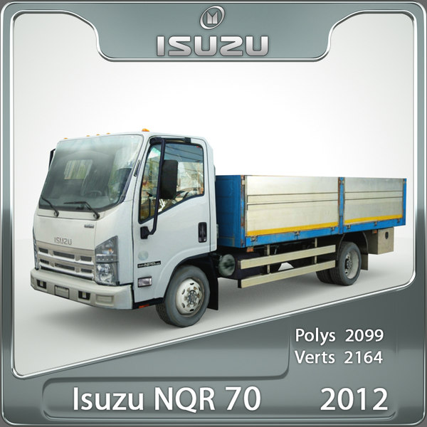 Isuzu NQR 70 flatbed 2012