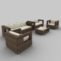 Rattan Seat Set 30
