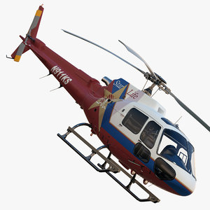 3dsmax eurocopter as350 ba ks
